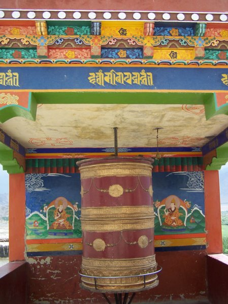 prayer-wheel